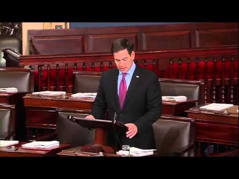 In Floor Speech, Rubio Urges Senate To Protect Critical State River Basin
