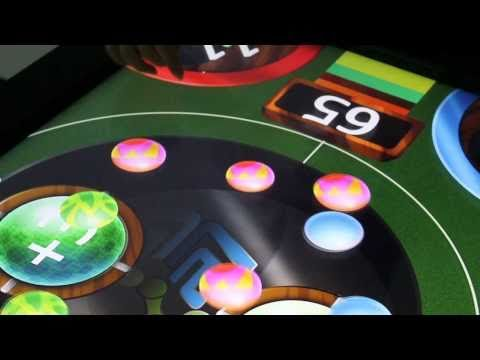 SpotOn Interactive: Multi-touch Multiplayer Game Table: Ball Seeker