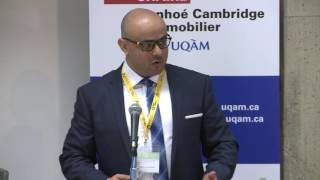 Acfas 2016: Colloque 497 en immobilier - Ahmed Dridi, UQAM - Université du Québec à Montréal