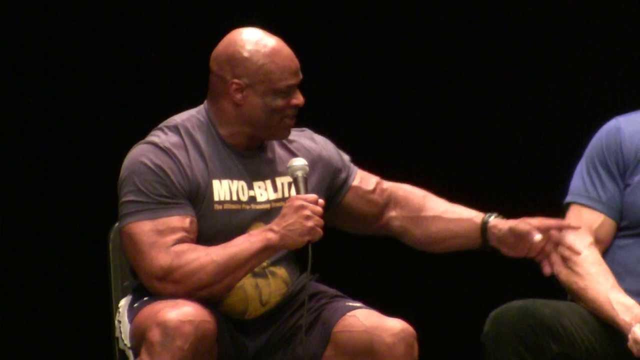 Ronnie Coleman Speaks About Flex Wheeler & Vitamins at The