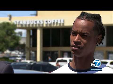 Torrance Starbucks customer says he was denied bathroom access because he's black