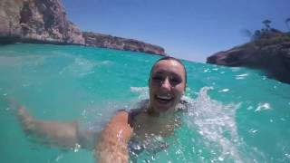 Cliff Diving on the Island of Mallorca