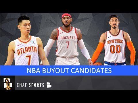 NBA Rumors: 11 Possible Buyout Candidates, Including Carmelo Anthony, Enes Kanter & Wayne Ellington