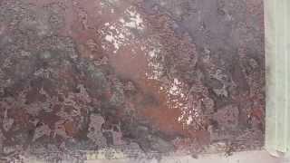 Новый образец  Молодого мрамора.Декоративная штукатурка.(Ещё данную штукатурку называют Старый город. Здесь использовал красители: бежевый, кремовый, оранжевый,..., 2015-10-24T17:36:28.000Z)