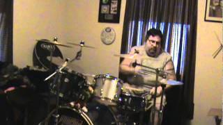 Whitesnake Here I Go Again drum cover