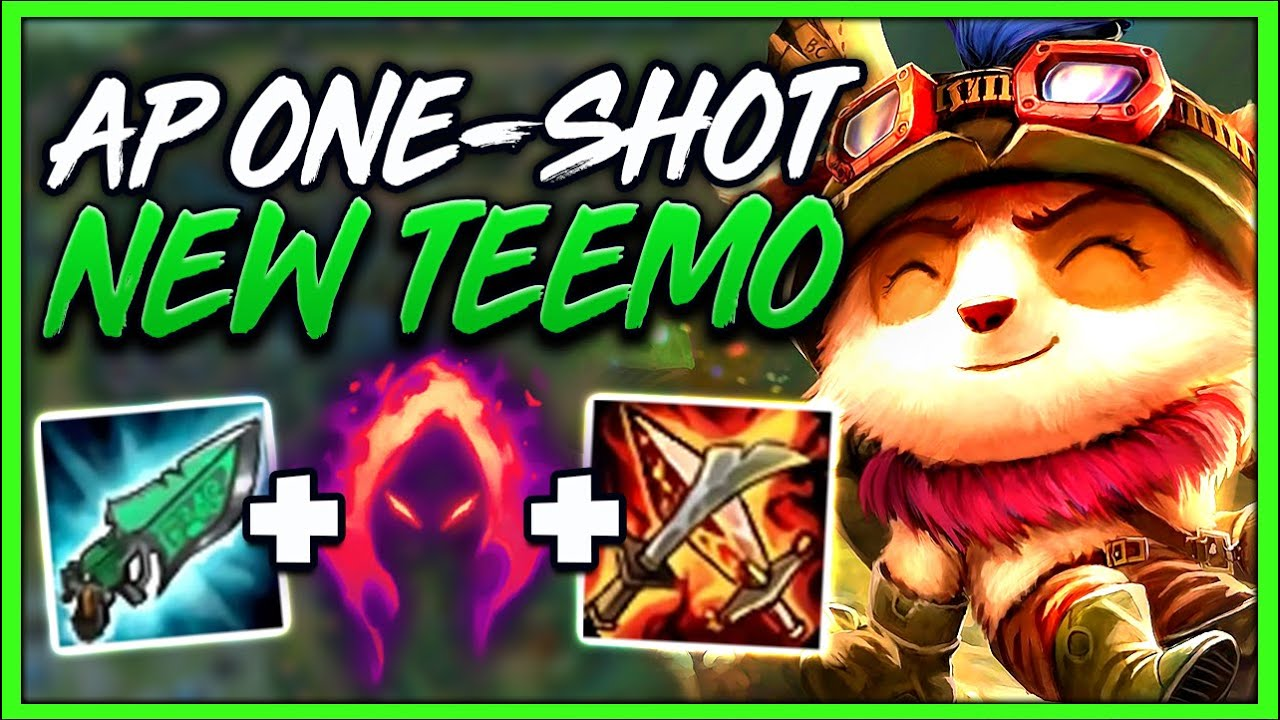 New Update This Teemo Build Can Instant One Shot Anyone New Build League Of Legends Youtube