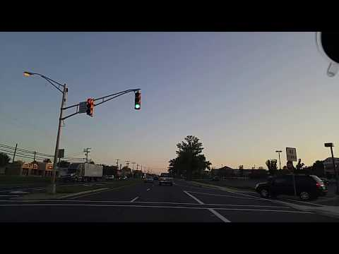 Driving by East Windsor,New Jersey