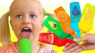 Фруктовое мороженое и другие детские песни. Песни для детей от Кати и Димы