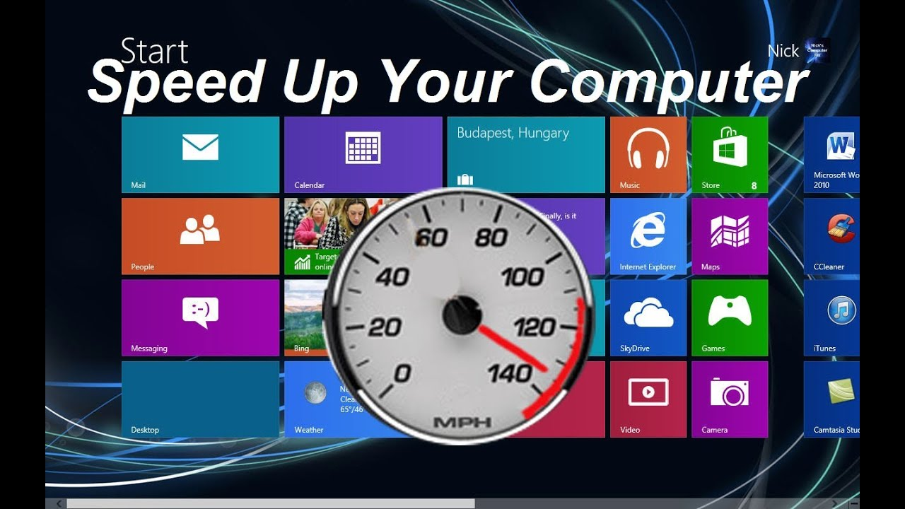 How To Speed Up Your Computer Windows 8 Free Easy Youtube