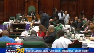 HOUSE CLEARS $38 5B FOR PUBLIC INFRASTRUCTURE MINISTRY  12 12 2018