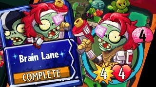 Plants vs Zombies Heroes Gameplay Immorticia Brain Lane Strategy Deck - Interstellar Bounty Hunter
