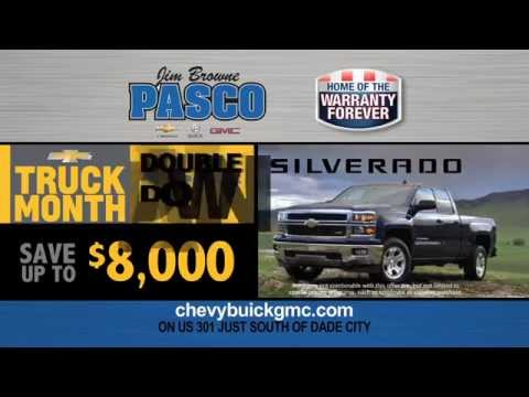 Jim Browne Pasco Chevrolet Buick GMC - Truck Month