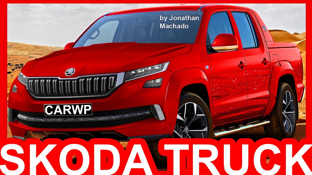 PHOTOSHOP 2019 Skoda Pickup Truck @ Volkswagen Amarok #SKODA - YouTube