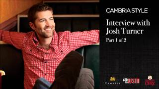 WSM Radio's Josh Turner Interview - Cambria Part 1