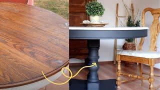Blah To Beautiful Diฑing Table Refinish   HometalkTV