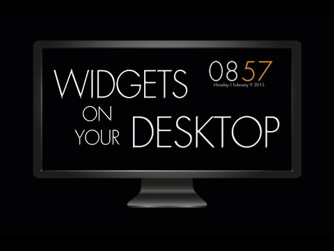XWIDGETS For Your Desktop