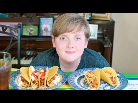 Extra large Tacos Mukbang | The Barkers