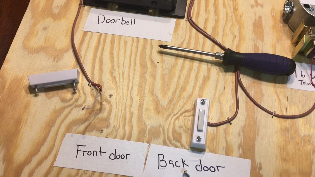 Doorbell Wiring  U0026 Troubleshooting