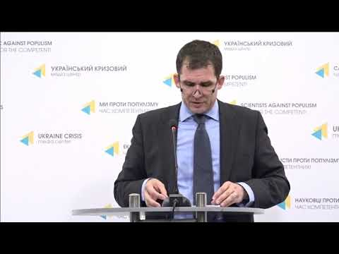 Press conference of Nils Melzer, UN Special Rapporteur on Torture. UCMC 08.06.2018