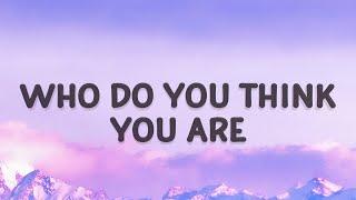 Download Christina Perri - Who do you think you are (Jar of Hearts) (Lyrics)