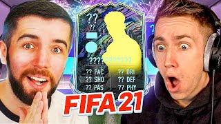 THE MOST INTENSE PACK CHALLENGE WITH JOSH! (FIFA 21 Pack Opening) (Future Stars Team 2)