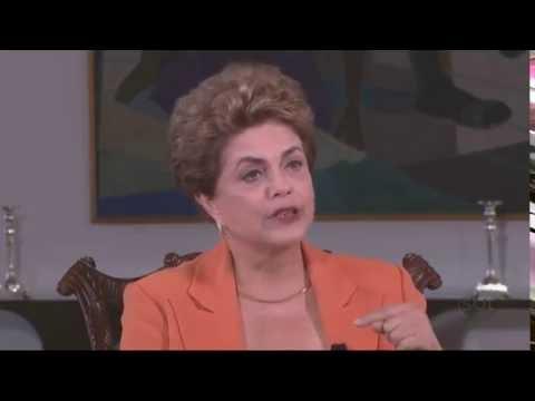 Kennedy Alencar entrevista a presidente afastada Dilma Rousseff - Parte 2