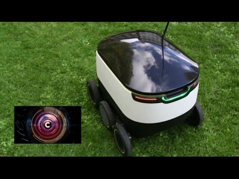 Starship robot aims to reduce delivery costs - BBC Click
