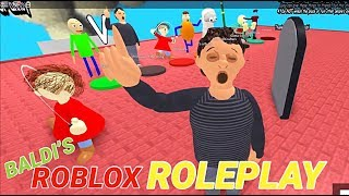 YOU CAN PLAY EVERY SINGLE BALDI CHARACTER!!! | The Weird Side of Roblox