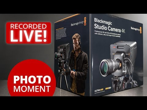 UNBOXING Blackmagic Studio Camera 4K and Amazon Prime Day — PhotoJoseph's Photo Moment 2017-07-11