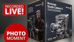 UNBOXING Blackmagic Studio Camera 4K and Amazon Prime Day — PhotoJoseph's Photo Moment 2017-07-11