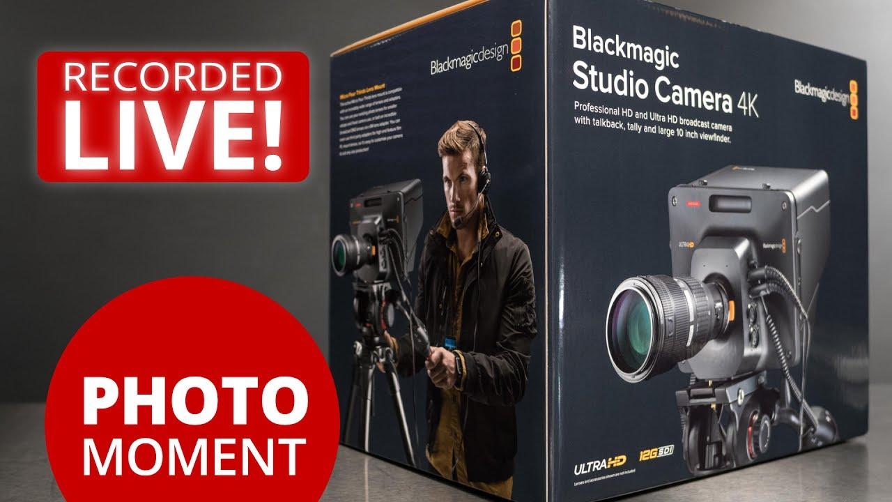 Unboxing Blackmagic Studio Camera 4k