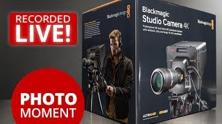Unboxing Blackmagic Studio Camera 4k And Amazon Prime Day Photojoseph S Photo Moment 2017 07 11 Youtube