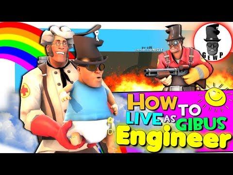 TF2: How to live as Gibus Engineer (G.E.W.P.)