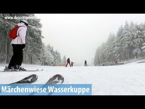 Start Skisaison Wasserkuppe/Rhön: Märchenwiesen-Abfahrt