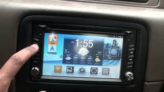 "Android Based Car Audio System 6.2"" Screen Part 1"