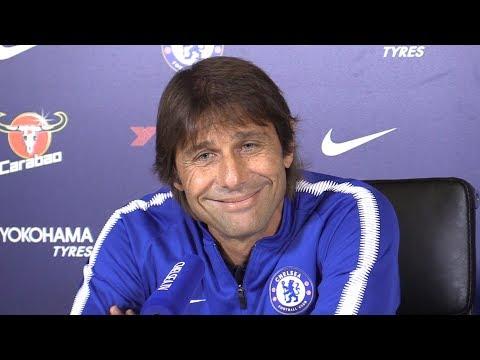 Antonio Conte Full Pre-Match Press Conference - Chelsea v Watford - Premier League