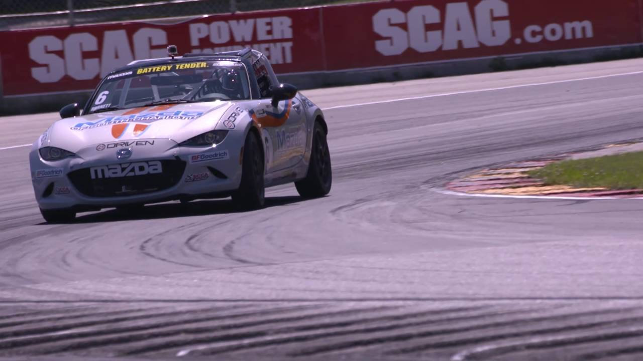 Tune In Alert   Livestream Broadcast #6 Mazda Of South Charlotte Global  Mazda MX 5 Cup From Canada