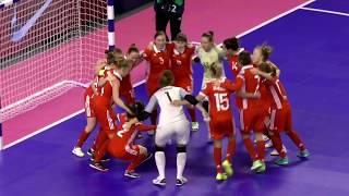 ЕВРО-19. Женщины. Матч за 3-е место. Россия - Украина - 2:2 (3:2 пен.)