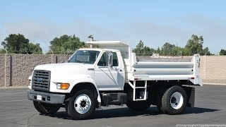 1997 Ford F800 SD 5-7 Yard Dump Truck