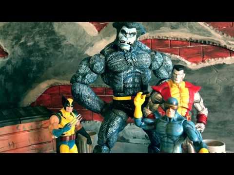 Beast Custom/Repaint (Toy Biz) Marvel Legends: Icons