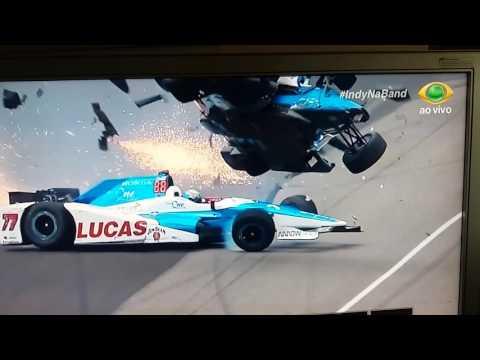Indianapolis 2017 acidente dixon