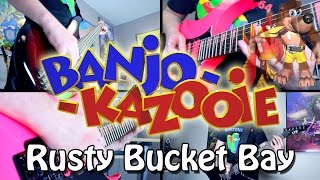 Rusty Bucket Bay - Banjo Kazooie (Rock/Metal) Guitar Cover