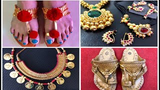 Traditional Kolhapuri Jewellery & Unique Kolhapuri Chappals- Market & Shopping