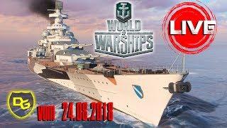 WORLD OF WARSHIPS Livestream - vom 24.08.2018 - Daniel Gaming