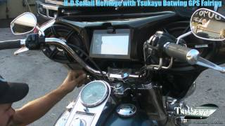 HD Softail Heritage with Tsukayu Batwing GPS Fairing