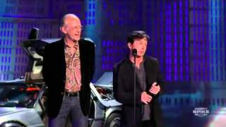 Scream Awards - Back To The Future 25th Anniversary - Michael J Fox & Christopher Lloyd reunited