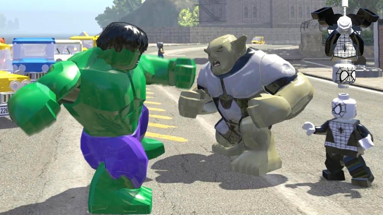 HULK vs GREENGOBLIN ULTIMATE vs SPIDERMAN (CLASSIC) LEGO Marvel Super Heroes