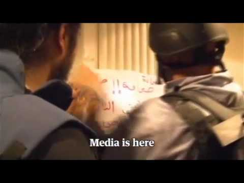 Footage of journalists stranded at Rixos hotel in Tripoli 24.8.2011