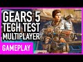Gears 5 - Arcade Deathmatch Multiplayer Gameplay (Tech Test) видео
