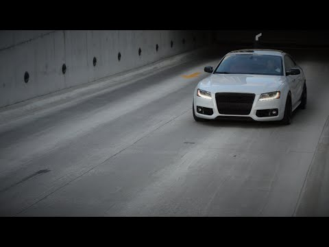 stunning audi s5 takes on the streets of des moines short. Black Bedroom Furniture Sets. Home Design Ideas